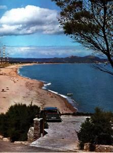 Playa de Pals, années 70, antennes de radio liberty