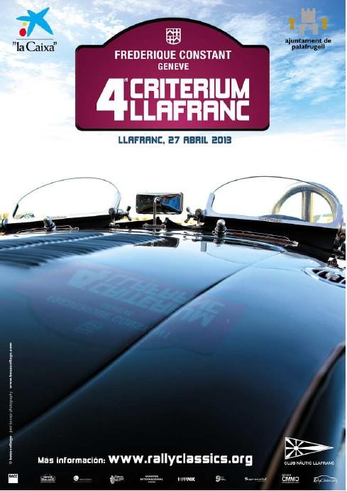 Criterium Llafranc voitures anciennes