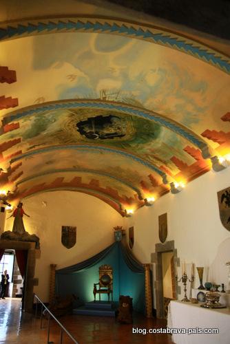 chateau Gala Dali Pubol, château de Pubol, maison de Gala