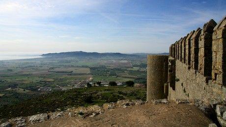 vue du castell de Montgrí