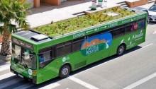 Jardin sur un bus