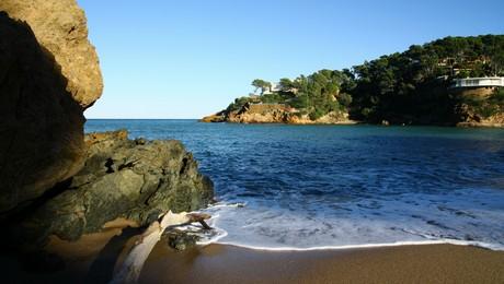 Sa Riera begur - les plus belles plages de la costa brava
