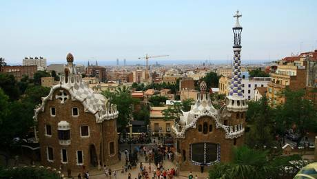 guide Gaudi à Barcelone : Park Guell