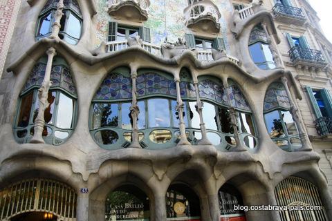 Casa Batlló Barcelone facade - gaudi