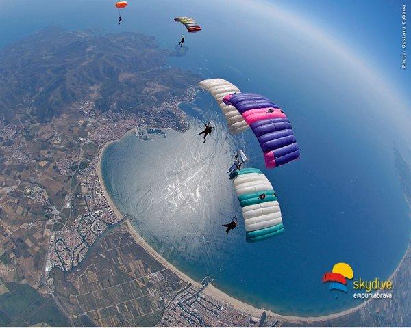 Que faire à Empuriabrava? du parachutisme skydive