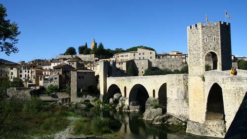 besalu - le pont médiéval