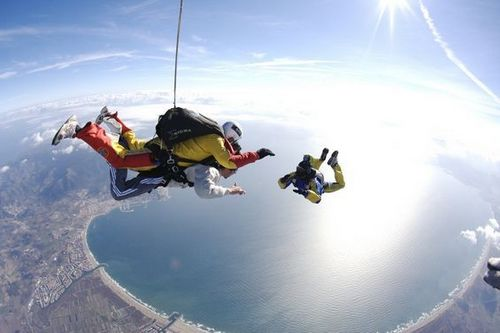 Empuriabrava - Photos parachutisme - TANDEM - By Mike Burdon