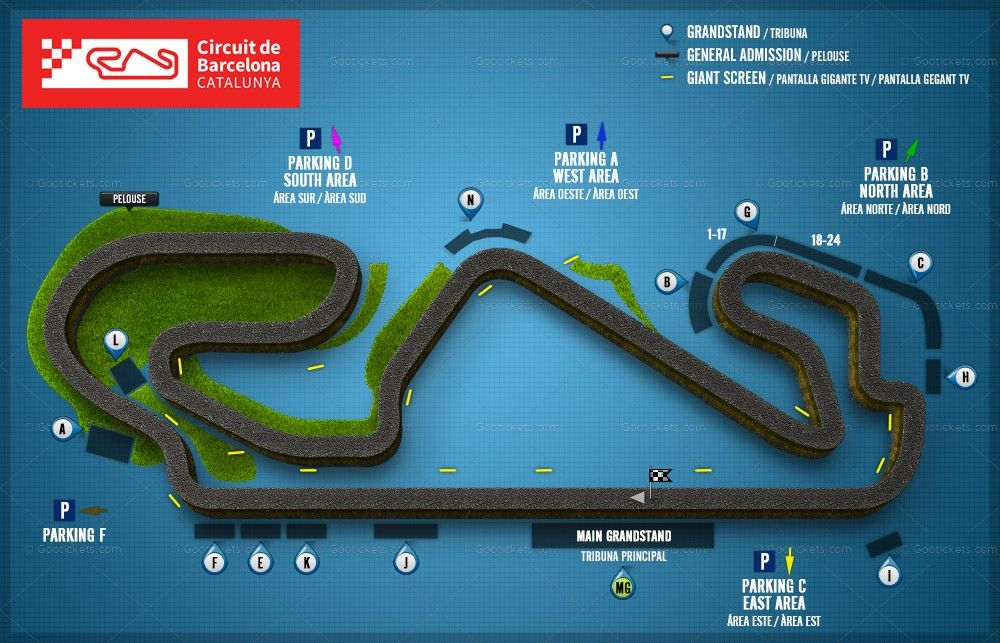 Grand prix MotoGP 2019 Barcelone