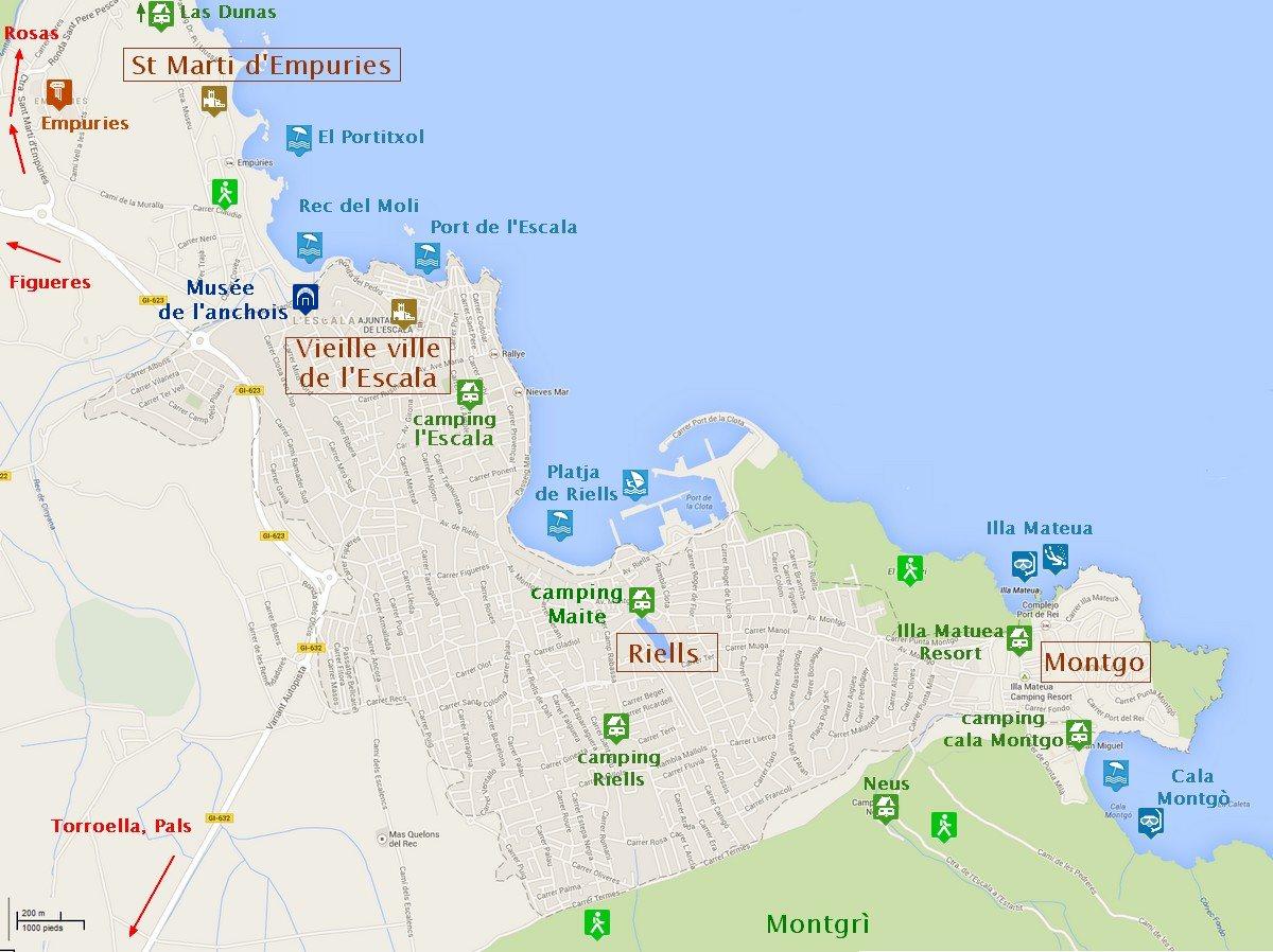 L escala en espagne super village pour des vacances sur la costa brava - Office de tourisme espagne ...