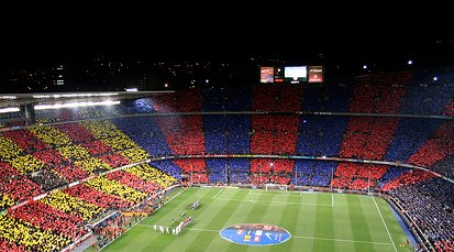 FC Barcelone - camp nou