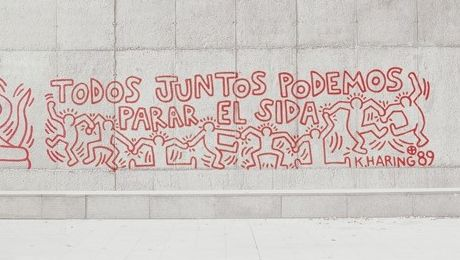 Keith Haring à Barcelone fet