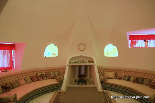 Maison-musée Dali à Cadaques Portlligat - la pièce ronde
