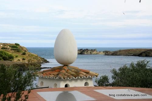 maison-musée Dali à Cadaques Portlligat