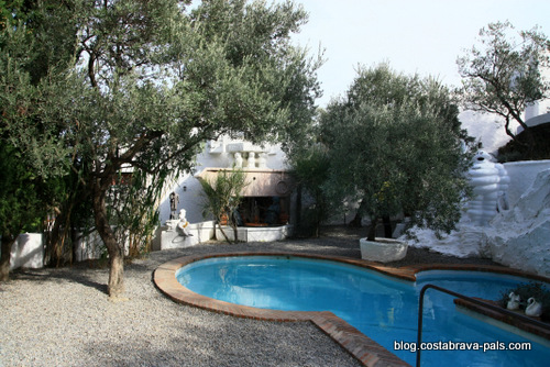 Maison-musée Dali à Cadaques Portlligat - la piscine