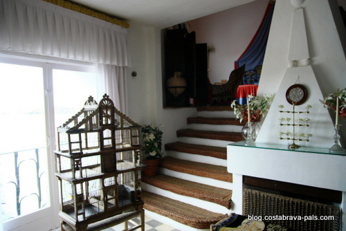 Maison-musée Dali à Cadaques Portlligat - la chanbre de Gala