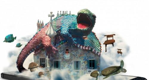 La Casa Batlló en numérique réalité augmentée 1