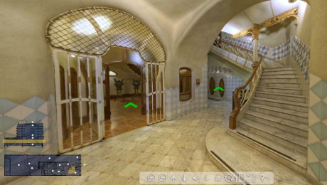 La Casa Batlló en numérique visite virtuelle fet