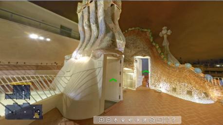 La Casa Batlló en numérique visite virtuelle2