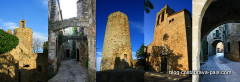 Village médiéval de Pals - Vues