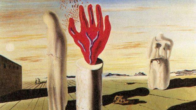 Salvador Dalí, Simulacre de la nuit, collection particulière