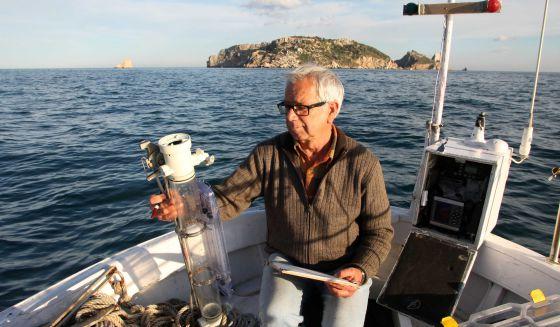 pêcheur de température iles medes J Pascual