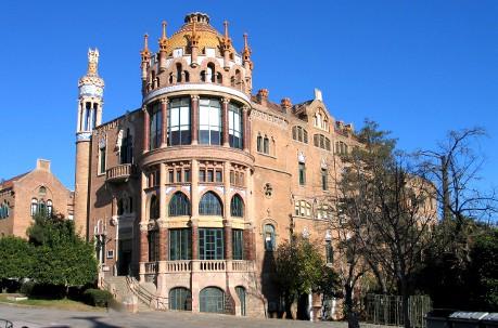 visiter barcelone gratuitement hospital sant pau