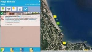 Etat des plages catalogne