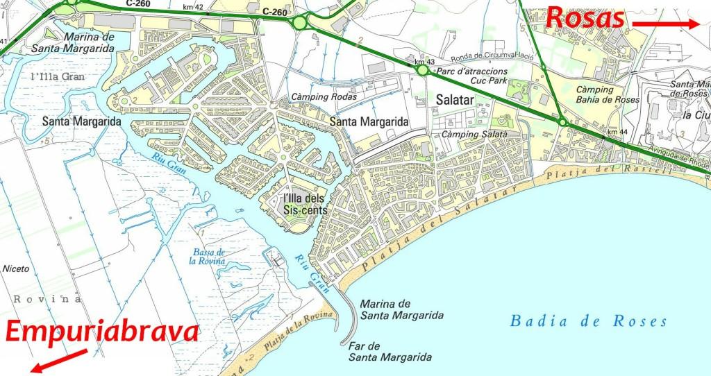 Plan Rosas Santa Margarita