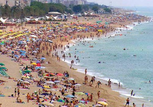 plage callela de la costa