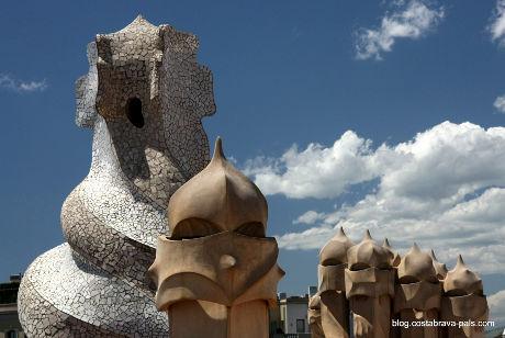 Casa Mila Gaudi Barcelone (1)