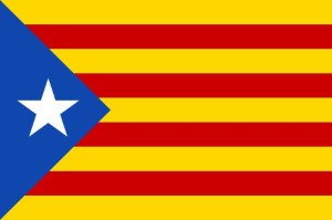Drapeau catalogne independante