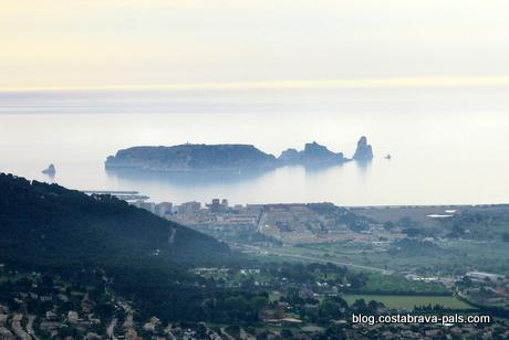 Meteo l'Estartit Costa Brava - Parc montgri iles medes Baix ter