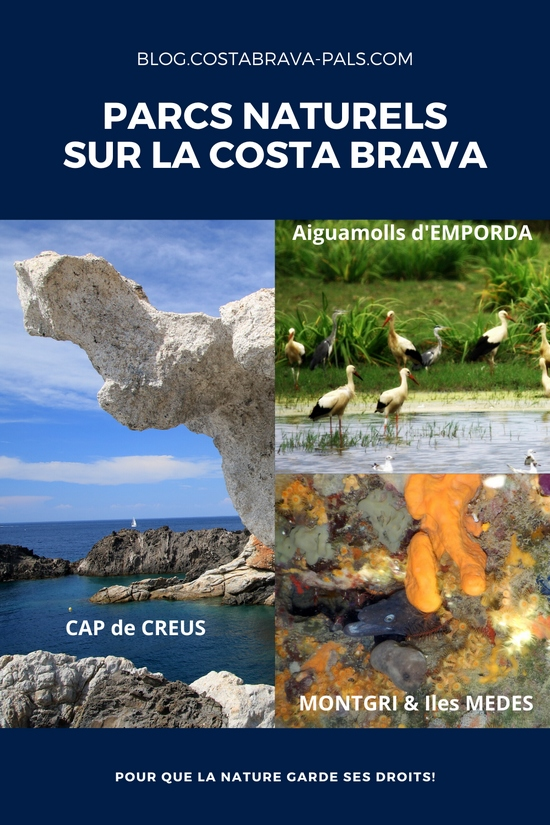 Les parcs naturels sur la Costa Brava