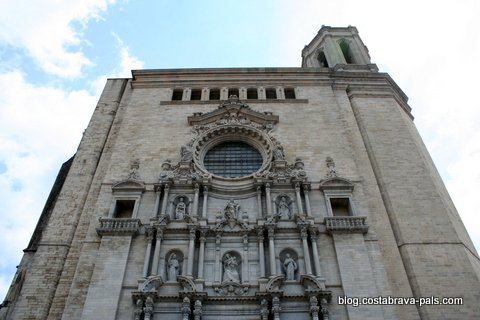 visiter Gérone - cathédrale de gérone