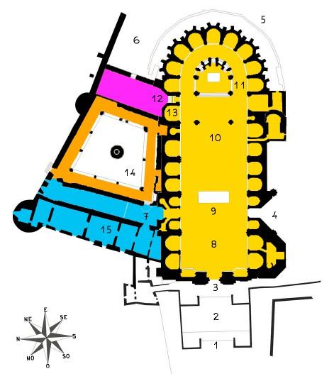 plan cathédrale de gérone