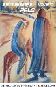 Pessebre vivent pals 2014