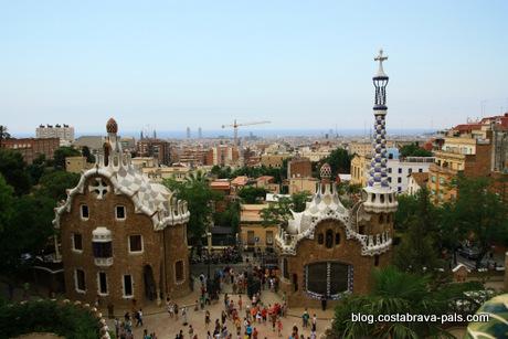 Barcelone en 1 jour, gaudi park guell