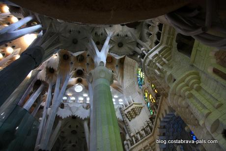 Découvrir Barcelone en 1 jour, la sagrada familia