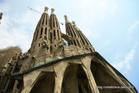 sagrada familia - Visiter Barcelone en 1 ou 2 jours