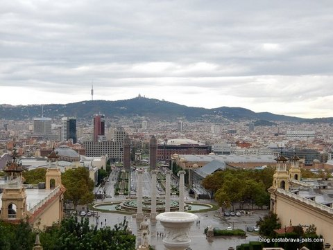 Montjuic Barcelone
