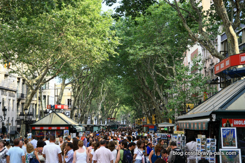 que faire à Barcelone : Ramblas barcelone