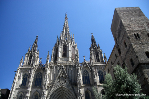 Cathedrale Barcelone barri gotic - Barcelone en 10 visites incontournables