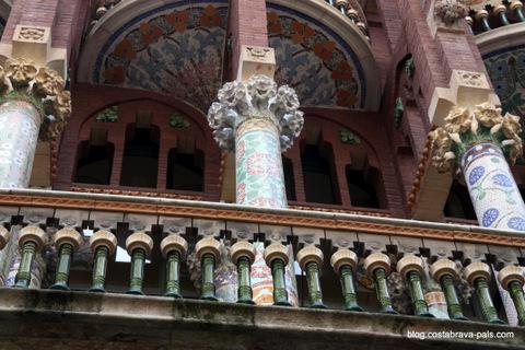 Palau musica - Barcelone en 10 visites incontournables
