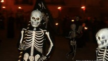 Danse de la mort procession de verges costa brava