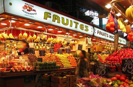 que faire à Barcelone : marché de barcelone