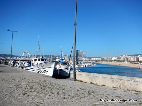 port palamos - carte Palamos Espagne