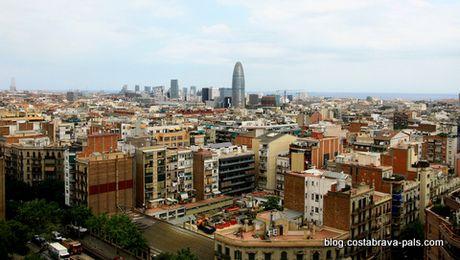 panoramas barcelone sagrada familia