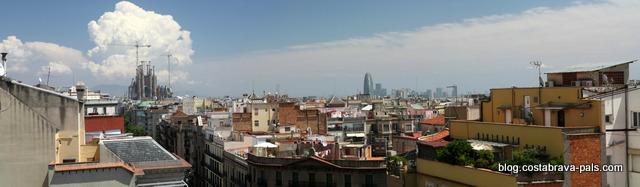 panoramas de barcelone