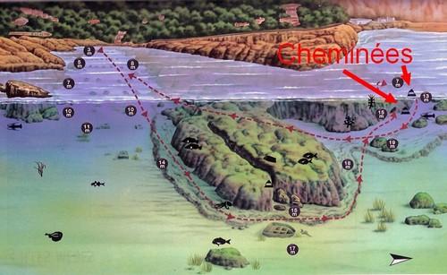 carte Plongée à Begur Aiguafreda