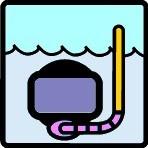 type plongée - snorkeling